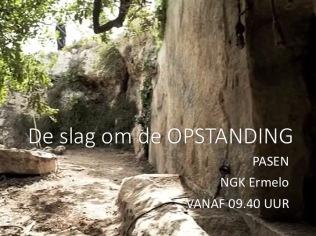 Luk. 24, 13-35 -De slag om de opstanding