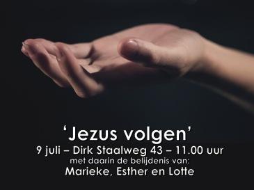 Luk. 5, 27-39 - NGKE - Jezus volgen belijdenisdienst