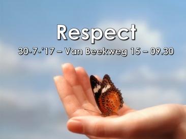Pred. 7, 16-18 (15-25) - Respect