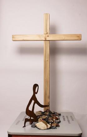 Last bij het kruis