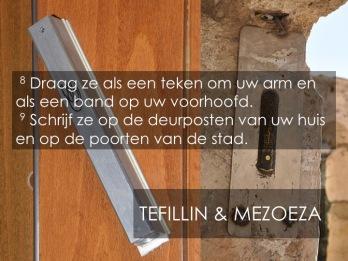 Deut 6, 1-9 - God in ons midden (2) Mezoeza- het woord voor elke dag